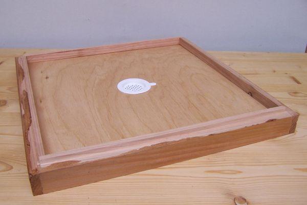 Zwischenboden 11er Normalmaß Holzbeute lasiert