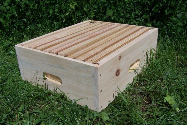 Honigraumzarge Dadant 10ner modifiziert natur