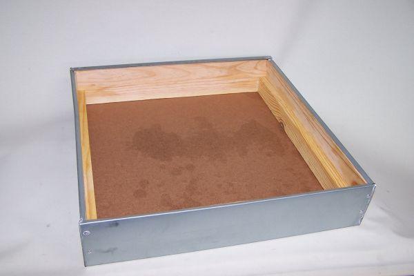 Außendeckel 11er Normalmaß Holzbeute lasiert