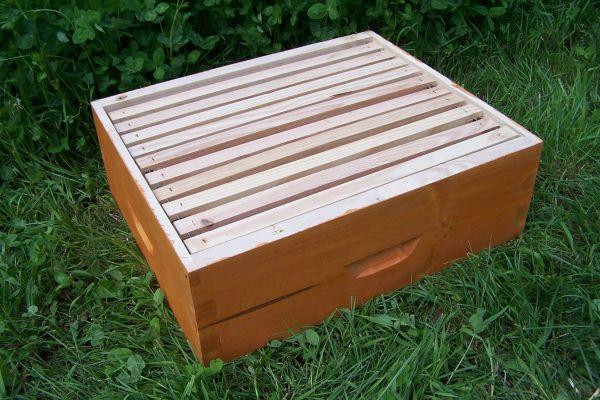 Honigraumzarge Dadant 12er US modifiziert lasiert