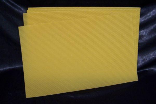 Mittelwände Dadant modifiziert Brutraum 26x42cm