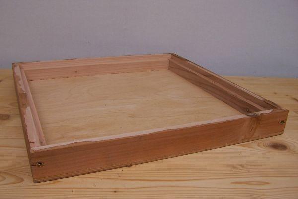 deckel 11er normalma holzbeute lasiert eine eine d mmung kann eingebracht werden. Black Bedroom Furniture Sets. Home Design Ideas